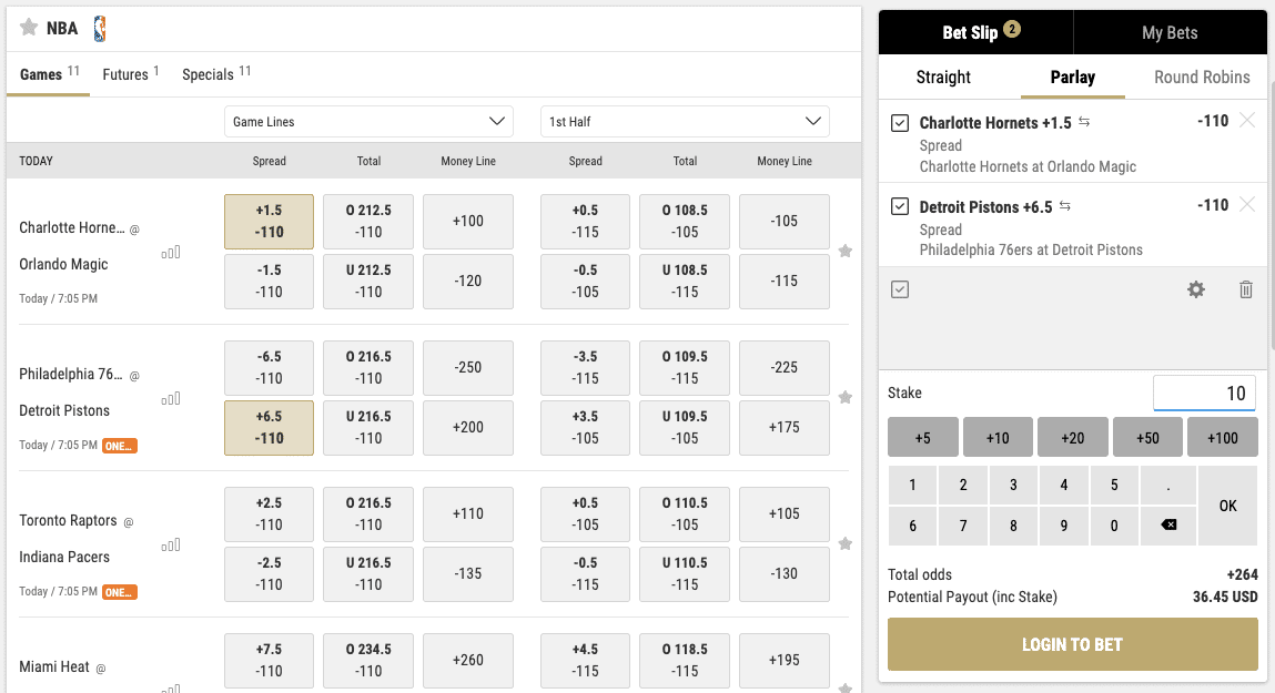 how parlay bets work