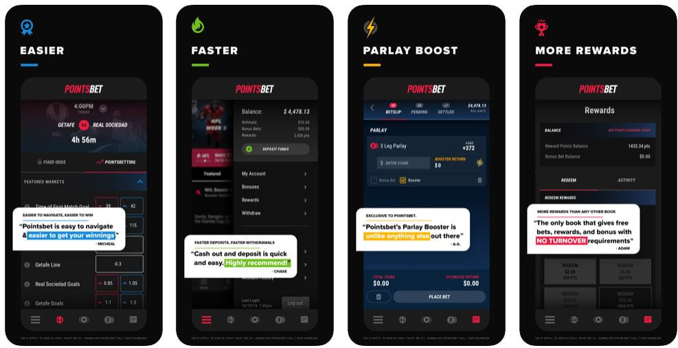mobile live betting