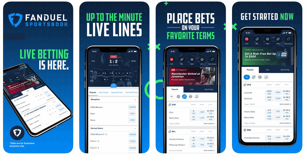 fanduel app and website review