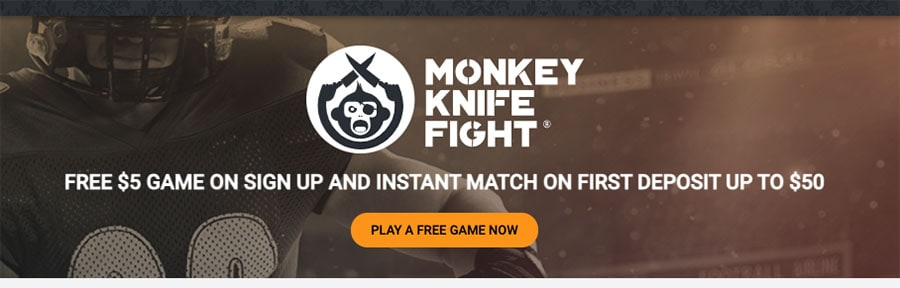 latest offers from Monkey Knife Fight