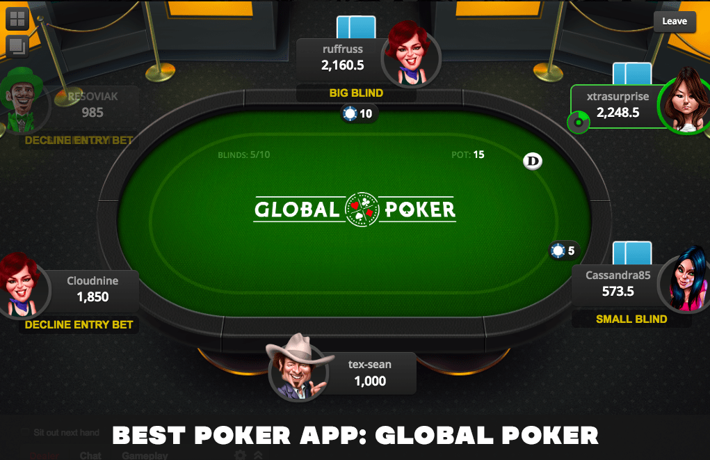 top-rated poker app for 2021