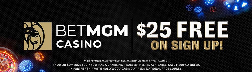 betmgm no deposit bonus offer
