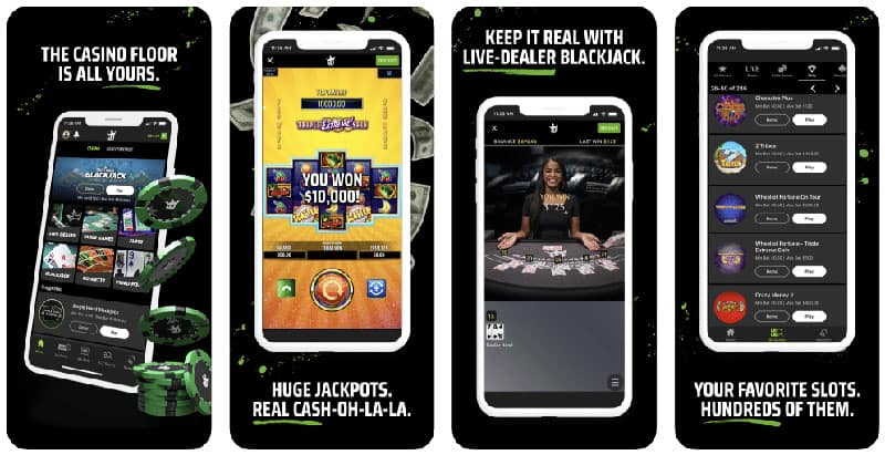 DraftKings PA Casino Features