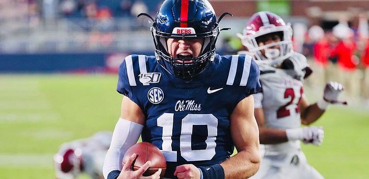 ole miss sec odds for 2021 cfb season