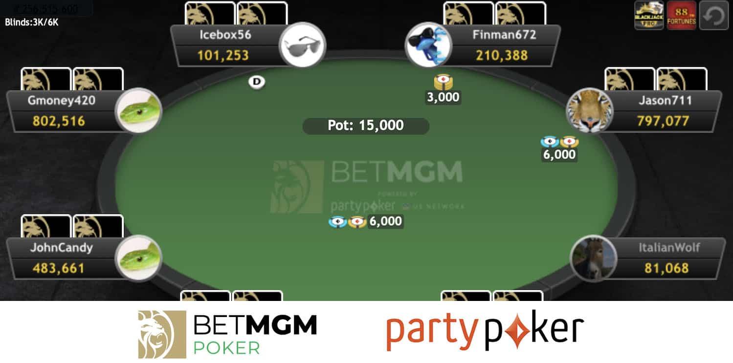 Overview of BetMGM Poker App in West Virginia