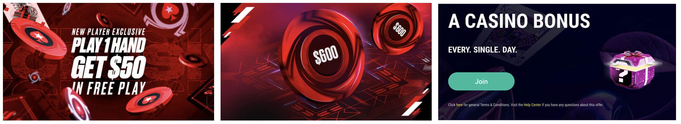 pokerstars offers for Michigan