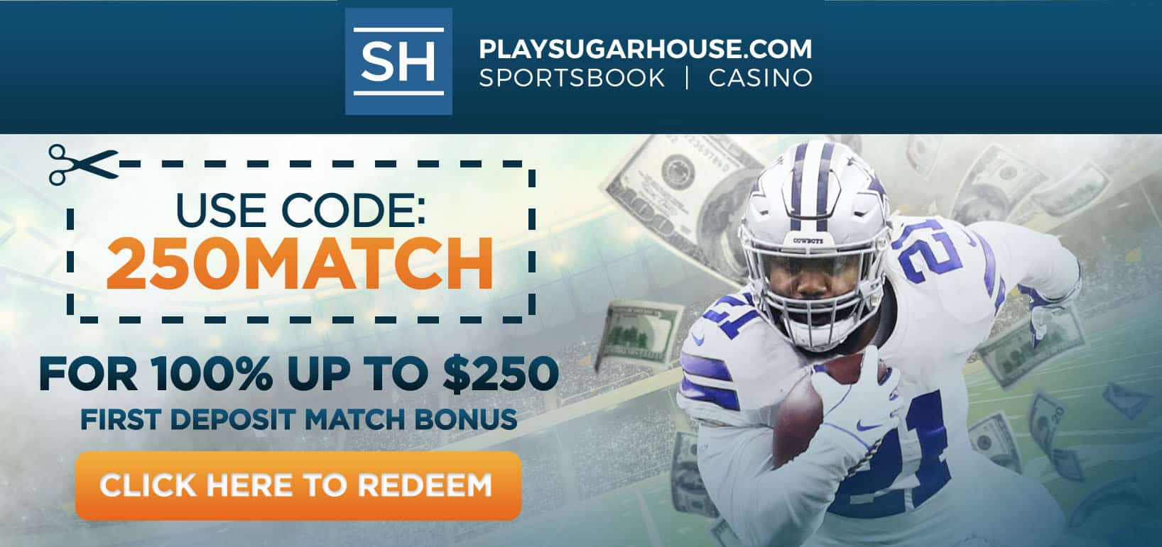 review of current sugarhouse bonus code offers