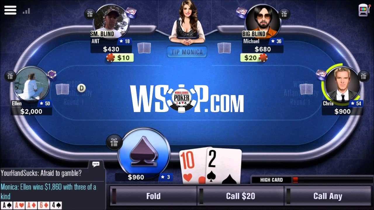 WSOP App Overview for 2021