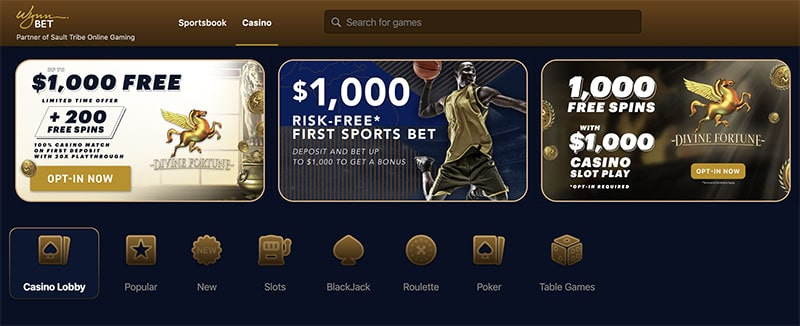 WynnBet Casino Michigan App