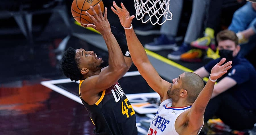 best odds and bets for jazz clippers