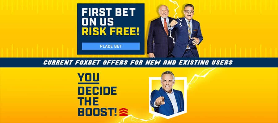 current foxbet promo code offers