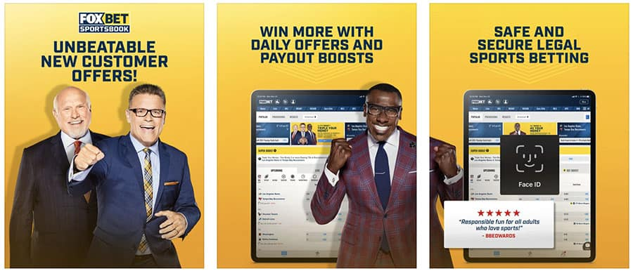 fox bet sportsbook app review and rating
