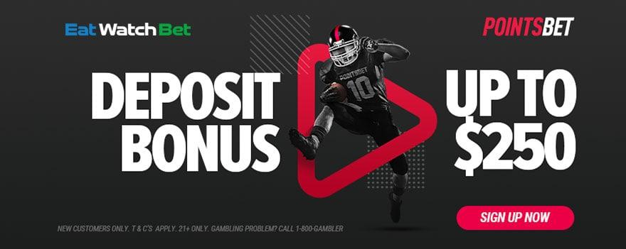 pointsbet 500 deposit bonus offer