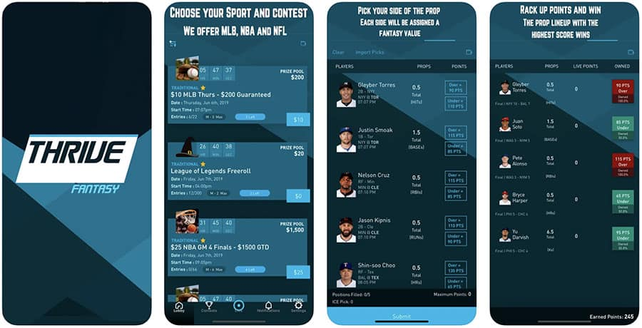 thrive fantasy app promotions