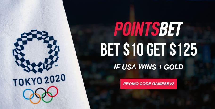 pointsbet olympics offer