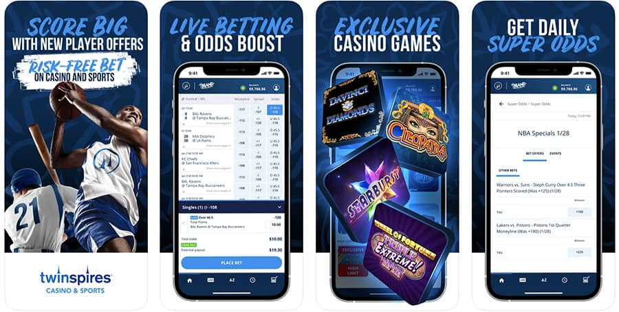 twinspires app rating