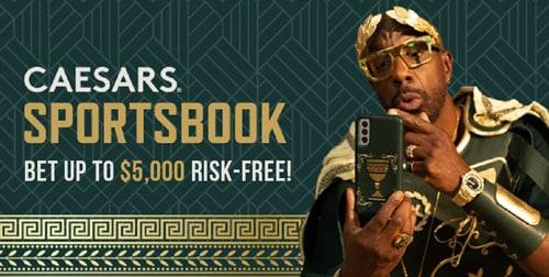 caesars sportsbook offer for 2021 NFL season