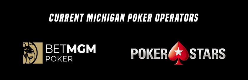 current Michigan poker operators
