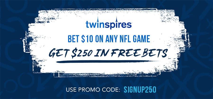 twinspires promo code offer for nfl week 1
