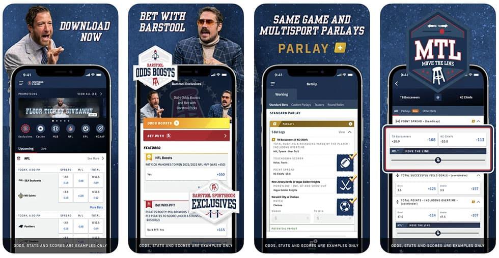 BarStool SportsBook App Overview