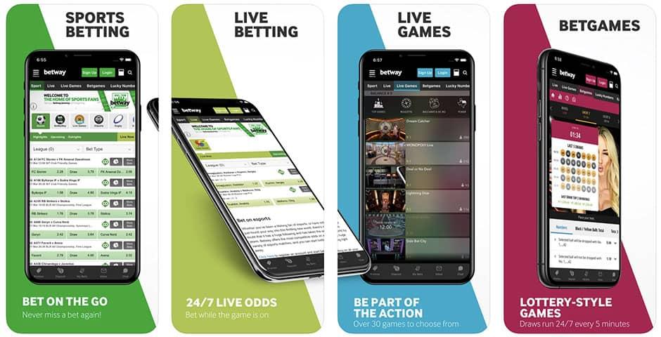 BetWay SportsBook App Offers