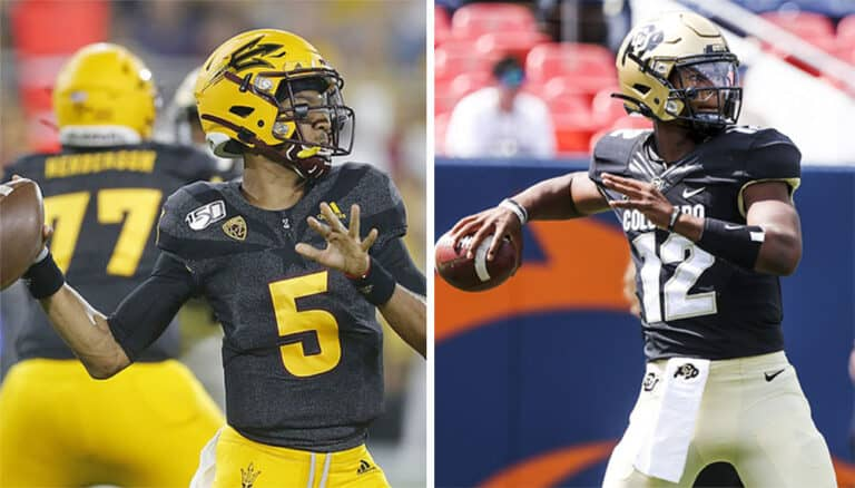 best bets for colorado vs arizona state