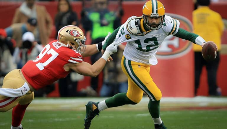 betting guide for Packers at 49ers on Sunday Night