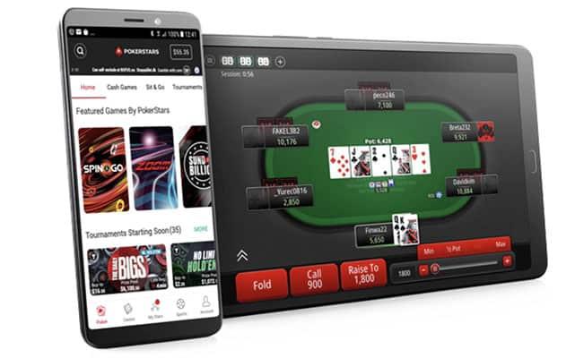 PokerStars Legal Real Money Poker App
