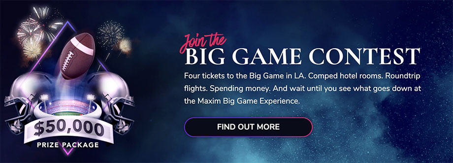 MaximBet Super Bowl Promotion for 2021-2022 NFL Season